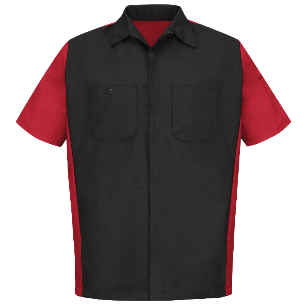 Red kap crew shirt phelps for Red kap mechanic shirts