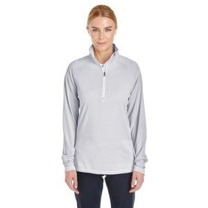 1289408 Under Armour Ladies Tech Stripe Quarter Zip