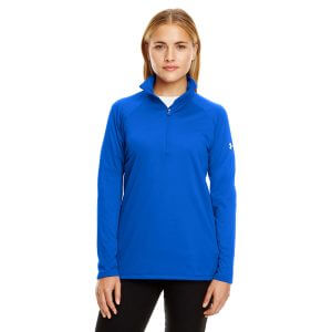 1300132 Under Armour Ladies UA Tech Quarter-Zip