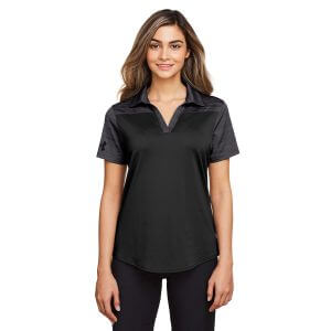 1348083 Under Armour Ladies Corporate Colorblock Polo